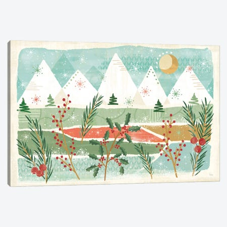 Holiday Flair I Canvas Print #VCH117} by Veronique Charron Canvas Art Print
