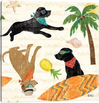 Good Vibes Pattern IB Canvas Art Print