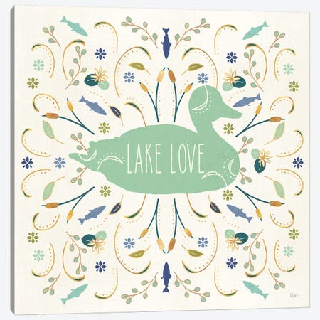 Otomi Lake II Canvas Print #VCH3} by Veronique Charron Art Print