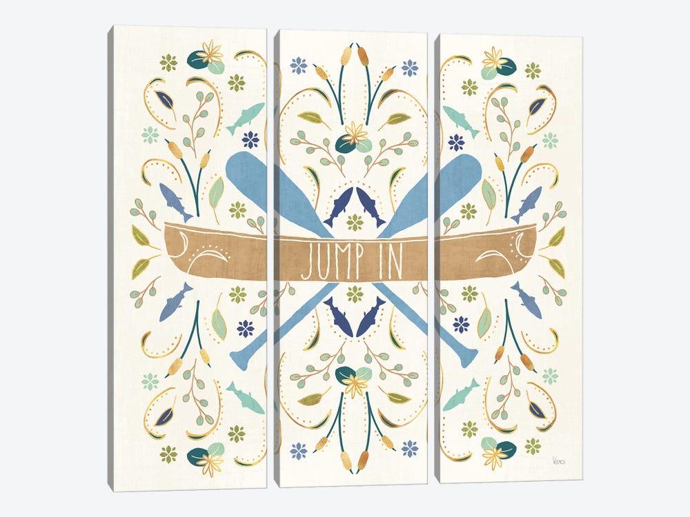 Otomi Lake III by Veronique Charron 3-piece Art Print