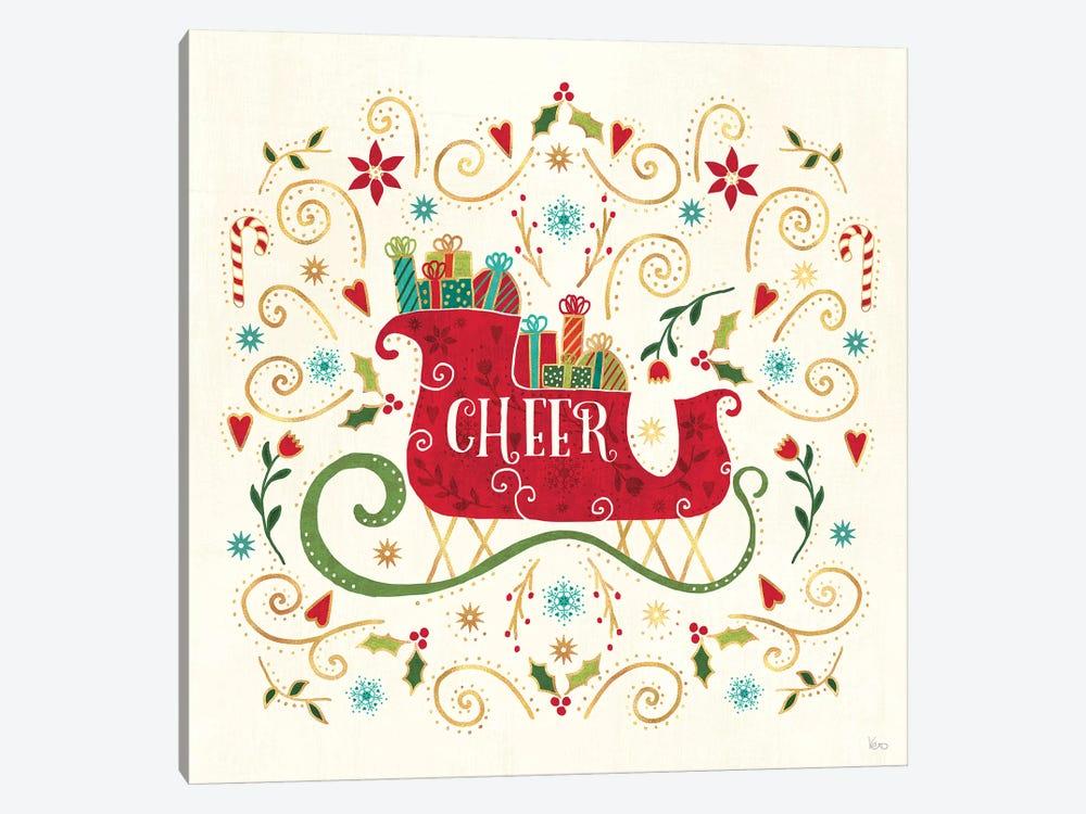Otomi Holiday VI by Veronique Charron 1-piece Canvas Art Print