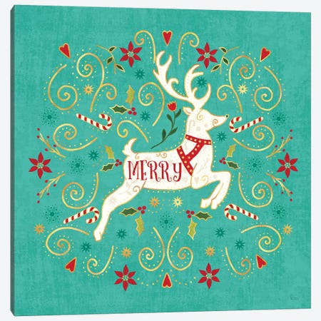 Otomi Holiday VIII Canvas Print #VCH56} by Veronique Charron Canvas Print