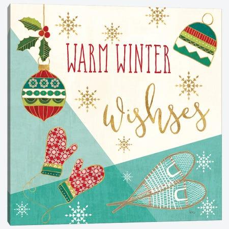 Winter Wishes I Canvas Print #VCH59} by Veronique Charron Canvas Art
