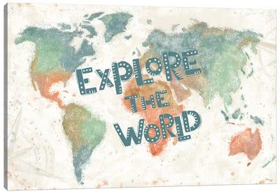 Explore the World I Canvas Art Print