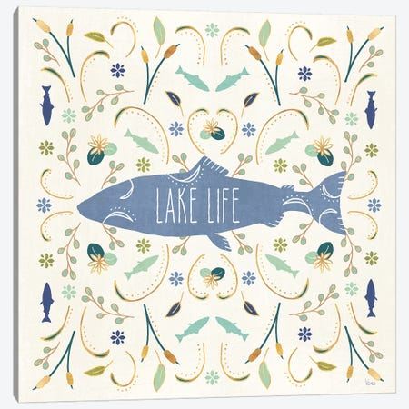 Otomi Lake V Canvas Print #VCH6} by Veronique Charron Canvas Artwork