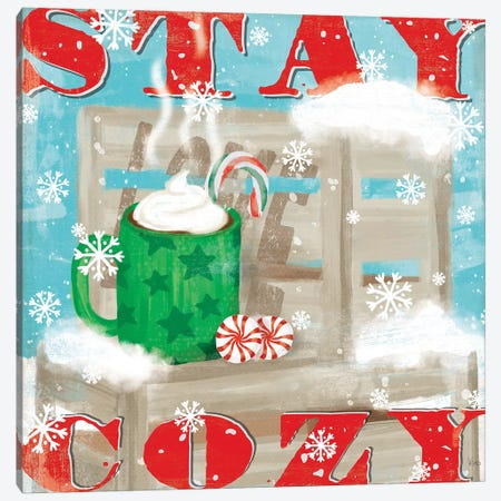 Snowy Fun VI Canvas Print #VCH73} by Veronique Charron Canvas Art
