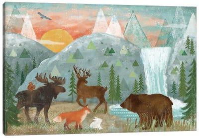 Woodland Forest I Canvas Art Print