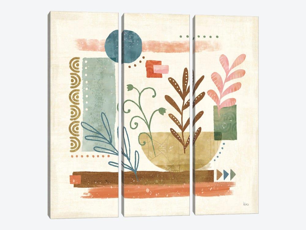 Vista II by Veronique Charron 3-piece Canvas Art