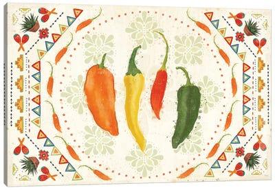 Tex Mex Fiesta I Canvas Art Print
