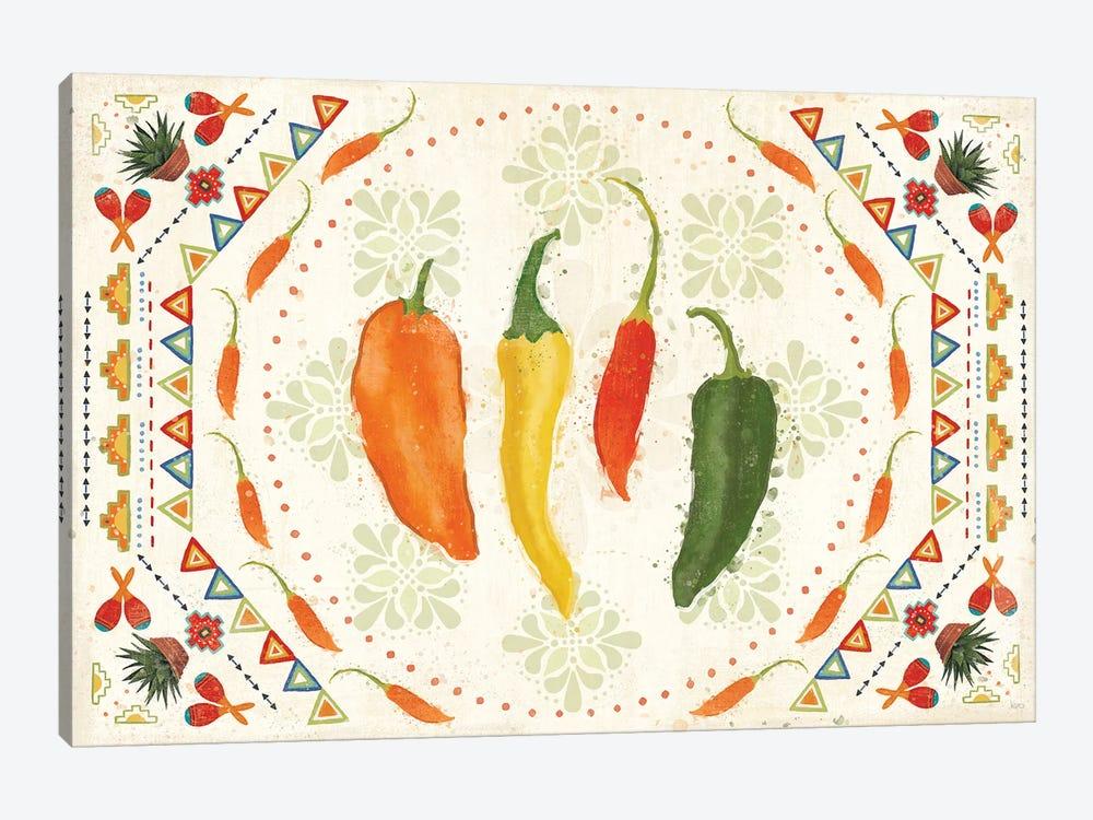 Tex Mex Fiesta I by Veronique Charron 1-piece Canvas Art