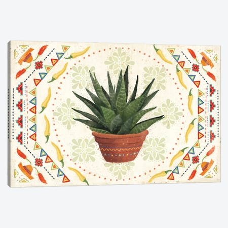 Tex Mex Fiesta II Canvas Print #VCH88} by Veronique Charron Canvas Art Print