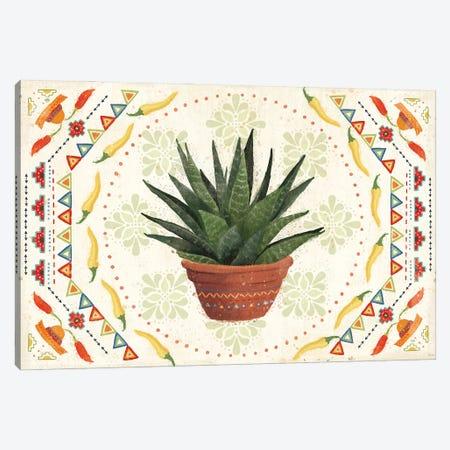 Tex Mex Fiesta II Canvas Print #VCH88} by Veronique Charron Canvas Art Print