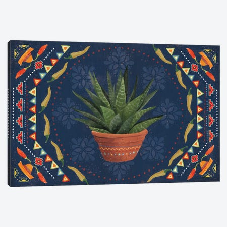Tex Mex Fiesta II Dark Canvas Print #VCH89} by Veronique Charron Canvas Print