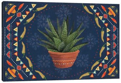 Tex Mex Fiesta II Dark Canvas Art Print