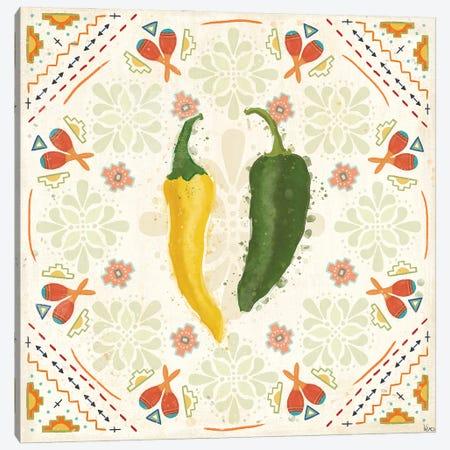 Tex Mex Fiesta III Canvas Print #VCH90} by Veronique Charron Canvas Artwork