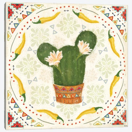 Tex Mex Fiesta IV Canvas Print #VCH92} by Veronique Charron Canvas Wall Art