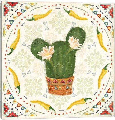 Tex Mex Fiesta IV Canvas Art Print