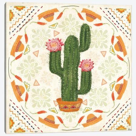 Tex Mex Fiesta V Canvas Print #VCH94} by Veronique Charron Art Print