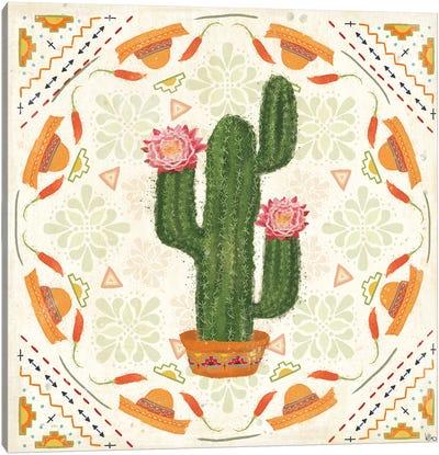 Tex Mex Fiesta V Canvas Art Print