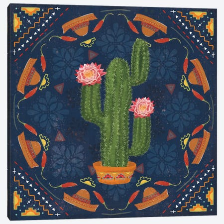 Tex Mex Fiesta V Dark Canvas Print #VCH95} by Veronique Charron Canvas Art Print
