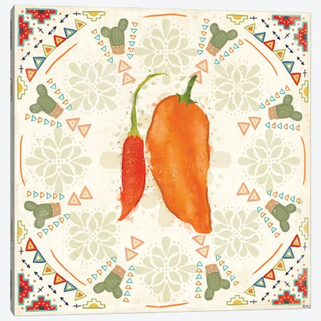 Tex Mex Fiesta VI Canvas Print #VCH96} by Veronique Charron Art Print