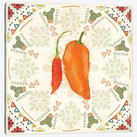 Tex Mex Fiesta VI Canvas Print #VCH96} by Veronique Charron Art Print