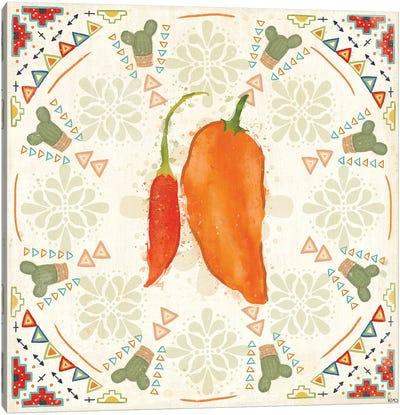 Tex Mex Fiesta VI Canvas Art Print