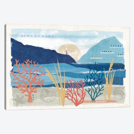 Coastal View I Canvas Print #VCH98} by Veronique Charron Canvas Wall Art