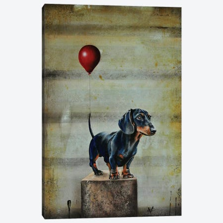 Stanley's Balloon Canvas Print #VCO13} by Victoria Coleman Canvas Print