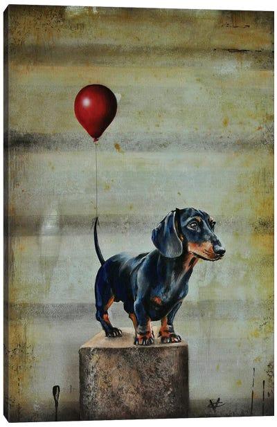 Stanley's Balloon Canvas Art Print