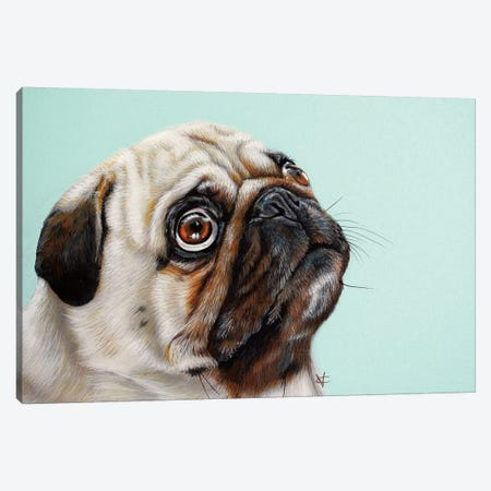 The Treat Canvas Print #VCO15} by Victoria Coleman Canvas Wall Art