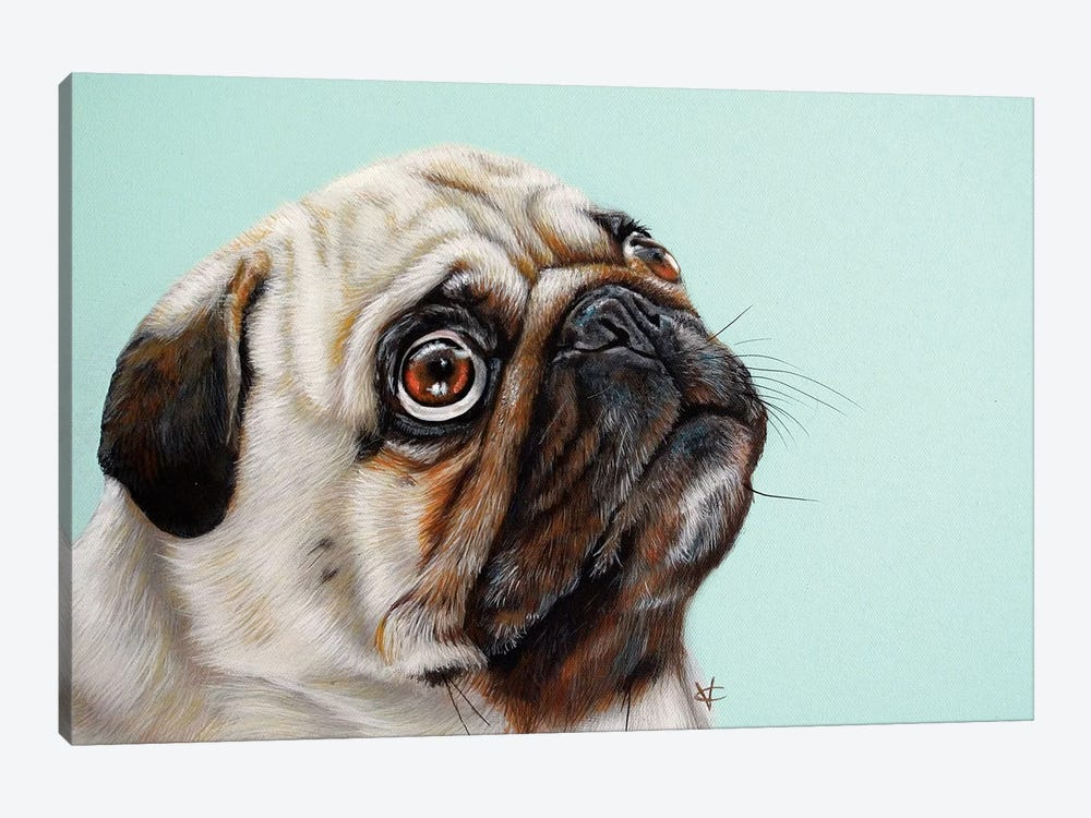 The Treat by Victoria Coleman 1-piece Art Print