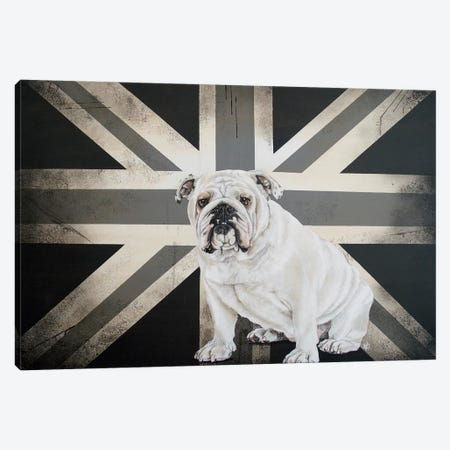 Best of British Black & White Canvas Print #VCO6} by Victoria Coleman Art Print