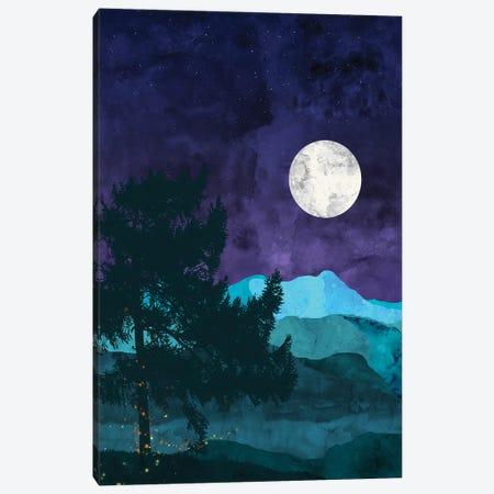 Nocturnal Mountains Canvas Print #VCR14} by Van Credi Canvas Print