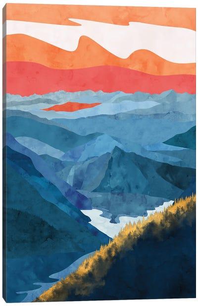 Hint of a Golden Forest Canvas Art Print