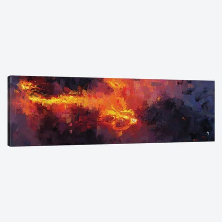 Hephaestus' Breath Canvas Print #VCR18} by Van Credi Canvas Art