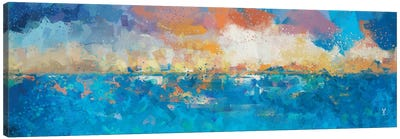 Sunset Seascape I Canvas Art Print
