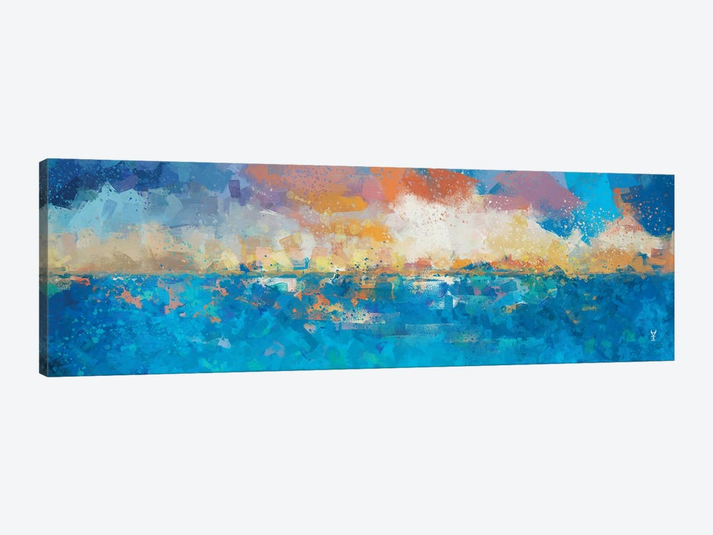 Sunset Seascape I by Van Credi 1-piece Canvas Print