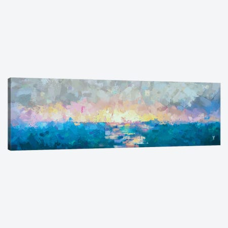 Pastel Saltiness Canvas Print #VCR21} by Van Credi Canvas Print