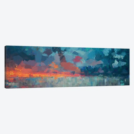 Antartico Canvas Print #VCR22} by Van Credi Art Print