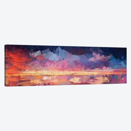 Sunset in the Matrix Canvas Print #VCR23} by Van Credi Canvas Art Print