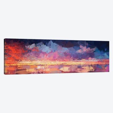 Sunset in the Matrix Canvas Print #VCR23} by Van Credi Canvas Art Print