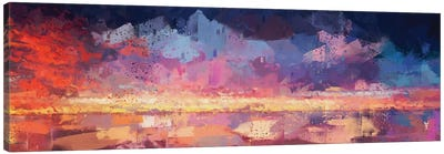 Sunset in the Matrix Canvas Art Print