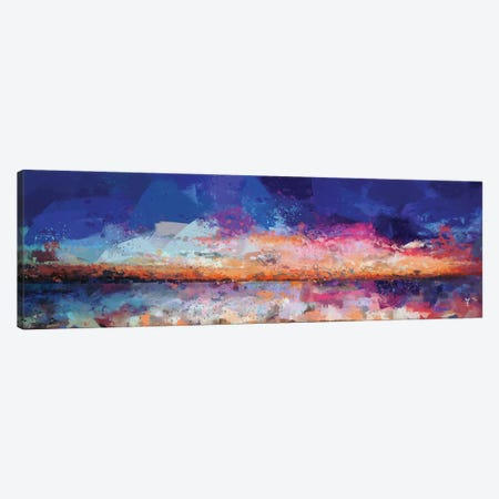 Sunset Seascape II Canvas Print #VCR24} by Van Credi Canvas Art