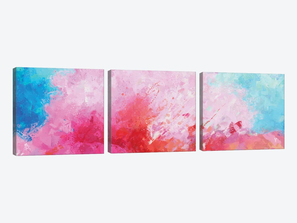 Playful Time by Van Credi 3-piece Canvas Wall Art