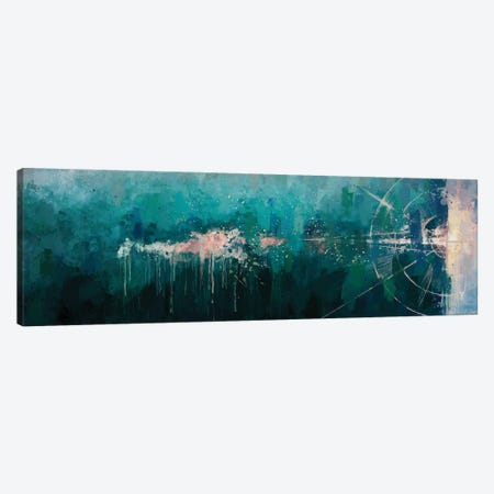 Geometric Seascape Canvas Print #VCR27} by Van Credi Canvas Wall Art