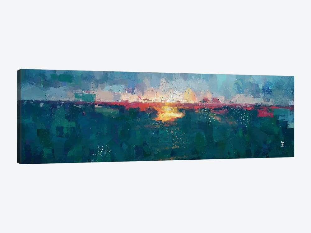 Sunset Seascape III by Van Credi 1-piece Canvas Art Print