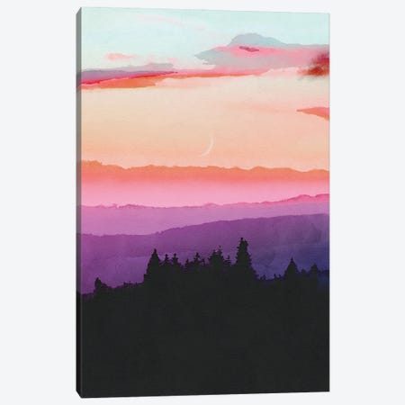 Forest Skyline Canvas Print #VCR30} by Van Credi Canvas Art
