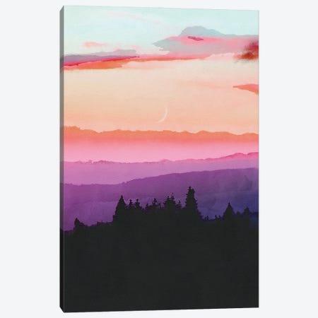 Forest Skyline Canvas Print #VCR30} by Van Credi Canvas Art