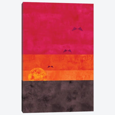 Sunrise Flight Canvas Print #VCR33} by Van Credi Canvas Artwork